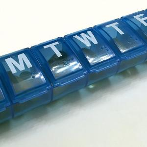 Daily pill organizer